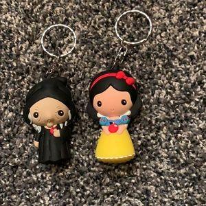 Disney Snow White Keychains